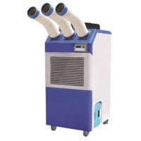 Industrial 25000 BTU Commercial Air Conditioner 7.3 kw up to 60 sqm with 3 Cold Air Nozzles