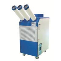 Industrial 32000 BTU Commercial Air Conditioner 9.4 kw up to 200 sqm with 3 Cold Air Nozzles