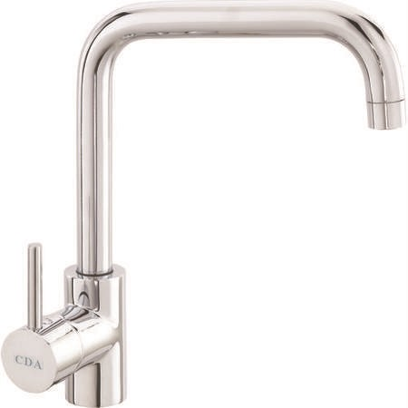 CDA Chrome Quad Spout Single Lever Mixer Kitchen Tap