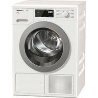 Miele TCF620WP T1 ChromeEdition 8kg Freestanding Heat Pump Condenser Tumble Dryer White