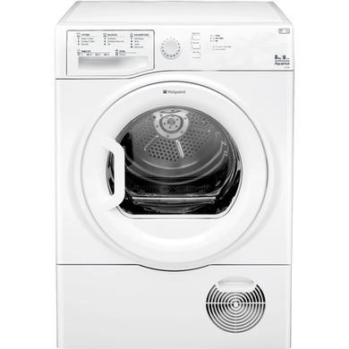 Hotpoint TCFS835BGP Aquarius 8kg Freestanding Condenser Tumble Dryer White