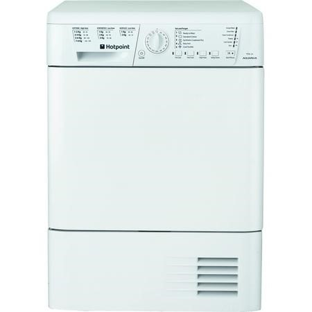 Hotpoint TCHL83BRP Aquarius 8kg Freestanding Condenser Tumble Dryer White