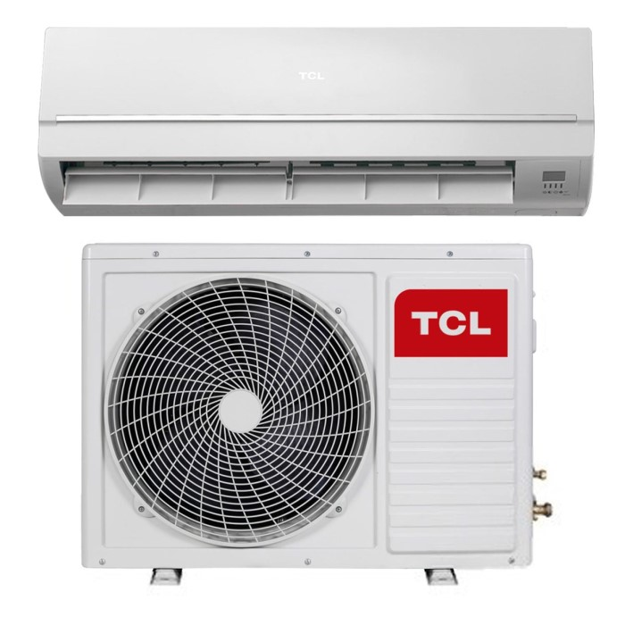 tcl 12000 btu wall mounted split air conditioner a a with heat