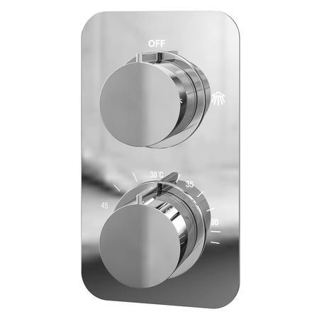 Thermostatic Concealed Shower Valve - Single Function