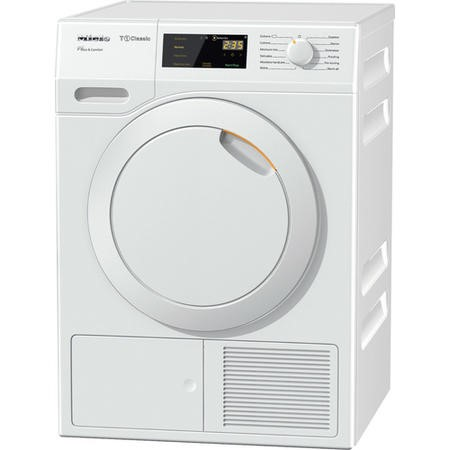 Miele TDD130 Classic 8kg Freestanding Heat Pump Tumble Dryer - White