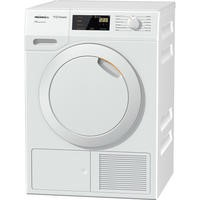 Miele TDD130 Classic 8kg Freestanding Heat Pump Condenser Tumble Dryer White