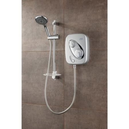 Triton Showers Thermostatic Power Shower - Satin
