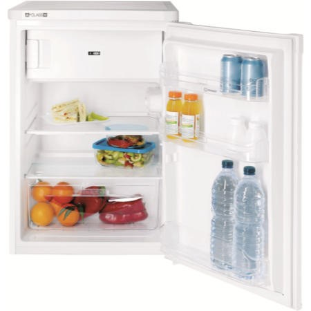 GRADE A2  - Indesit TFAA10S Under Counter Freestanding Fridge with Ice Box - Silver