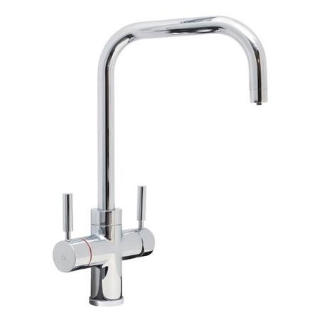 CDA Boiling Water Kitchen Tap 3 in 1 Chrome