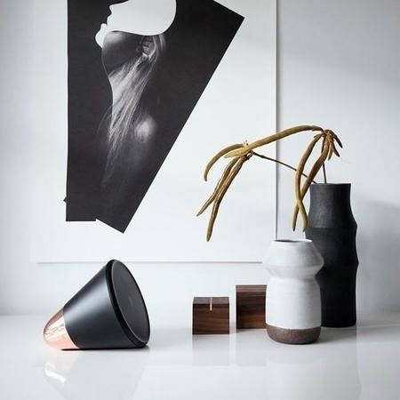 Aether Cone Wifi and Bluetooth HiFi Speaker - Black and Copper
