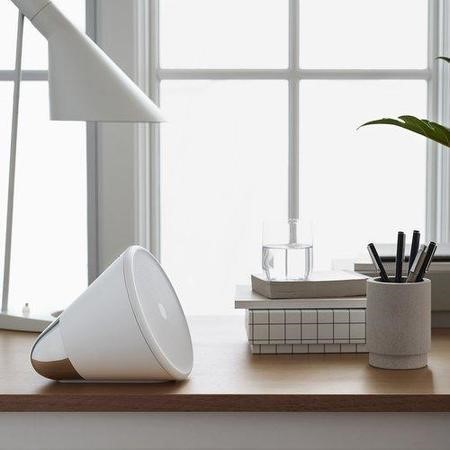 Aether Cone Wireless HiFi Speaker - White and Silver