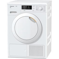 Miele TKB540WP 8kg Freestanding Heat Pump Condenser Tumble Dryer White