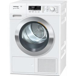 Miele TKR850WP ChromeEdition 8kg Freestanding Heat Pump Condenser Tumble Dryer With FragranceDos Technology