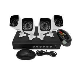electrIQ 8 channel AHD 1080p Kit with 2TB Hard Drive installed & 4 HD 720p Bullet Cameras