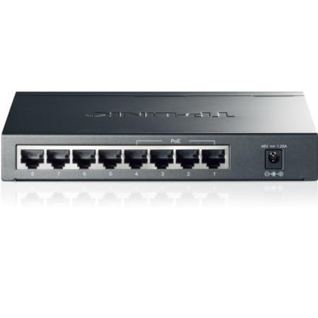 8 Port Gigabit PoE Switch with 4 Port PoE