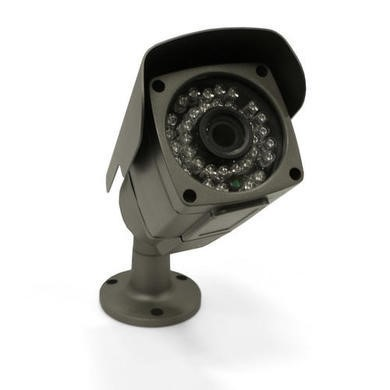 electrIQ 4 Channel HD 1080p Network Video Recorder with 4 x 960p Bullet Cameras - Hard Drive required