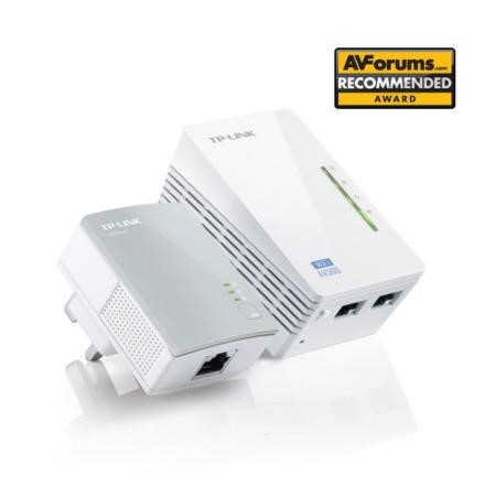 TP-LINK 300MBPS WIFI + 500MBPS POWERLINE KIT + 2 x 10/100 PORTS