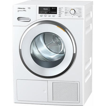 Miele TMR840WP 9kg Freestanding Heat Pump Condenser Tumble Dryer With Perfect Dry & FragranceDos - White