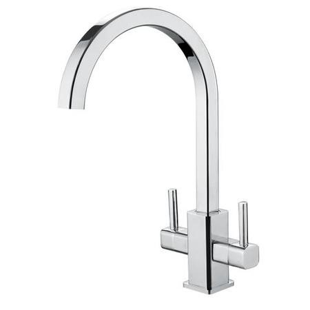 Taylor & Moore Dual Lever Mono Kitchen Sink Tap