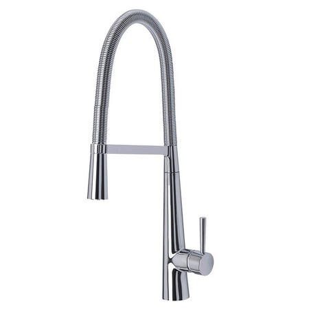 Taylor & Moore Monobloc Pull Out Kitchen Sink Mixer Tap in a Polished Chrome