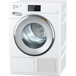 Miele TMV840WP 9kg Freestanding Heat Pump Condenser Tumble Dryer White