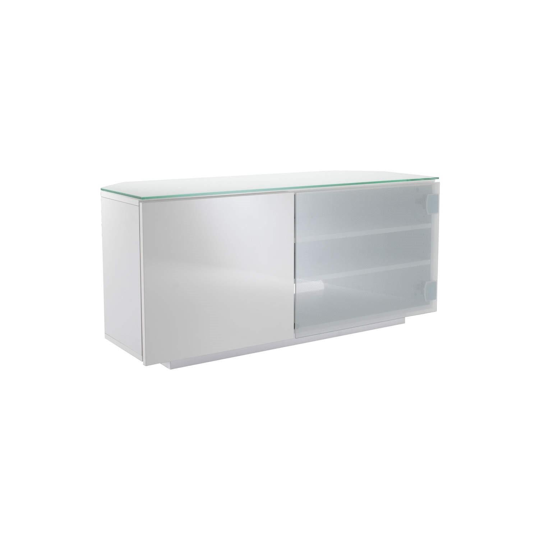 classic 6b4cc d9aff UKCF Tokyo Gloss White Corner TV Cabinet - Up to 42 Inch