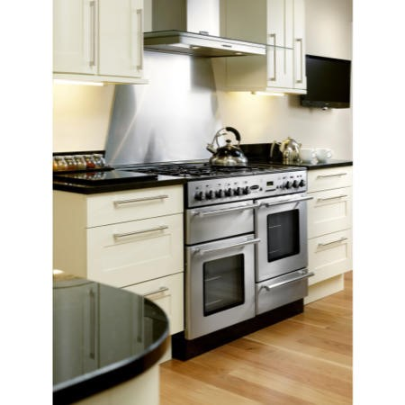 Rangemaster 68930 Toledo 110cm Electric Range Cooker With Ceramic Hob - Stainless Steel