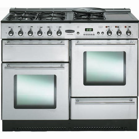 Rangemaster 73860 Toledo 110cm Natural Gas Range Cooker - Stainless Steel