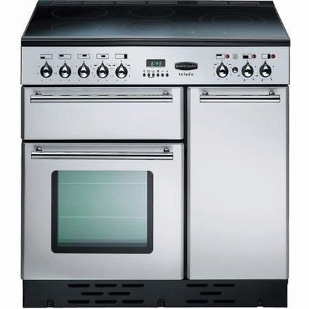 Rangemaster 68960 Toledo Ceramic 90cm Electric Range Cooker - Stainless Steel