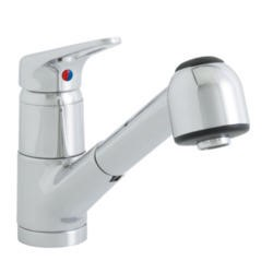 Astracast TP0259 Finesse Single Lever Single Flow Tap with Pull-out Spray in Chrome