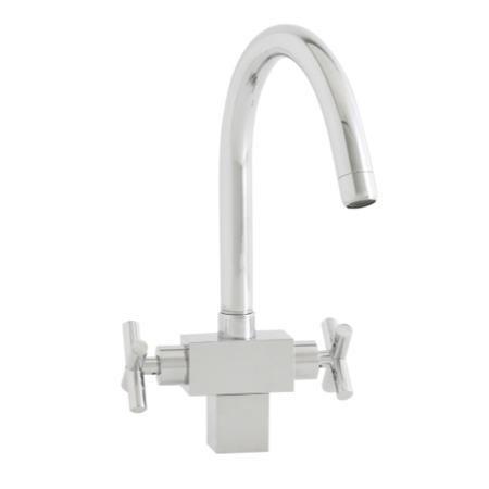 Astracast TP0714 Danube Twin Dial Single Flow Tap in Chrome