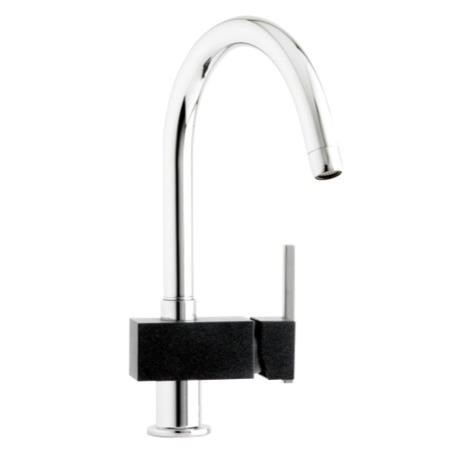 Astracast TP0762 Tybers Single Lever Mixer Tap in Chrome & Black