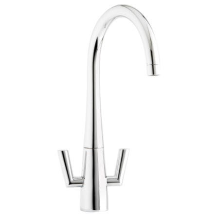 Astracast TP0767 Agena Twin Lever Single Flow Tap in Chrome