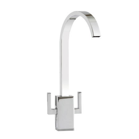 Astracast TP0769 Izar Twin Lever Waterfall Flow Tap in Chrome