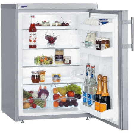 Liebherr TPESF1710 60cm Wide Freestanding Fridge - Stainless Steel