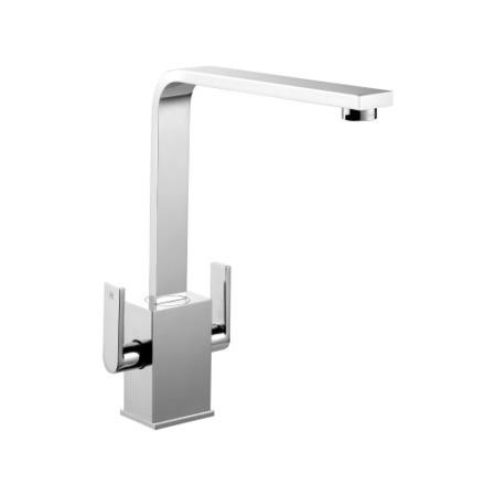 Rangemaster Quadrant Contemporary Tap - Brushed Steel