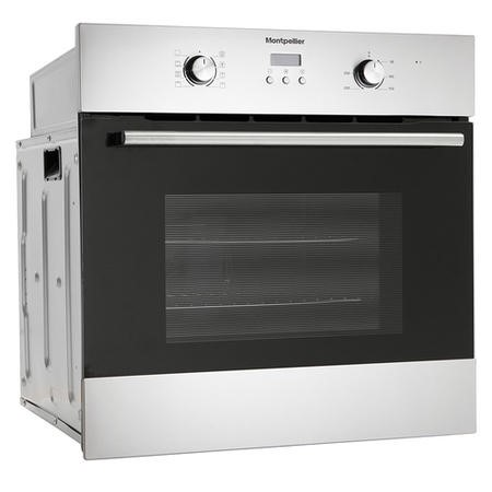 Refurbished Montpellier SFO59MX Single Built-In Oven Electric Stainless Steel