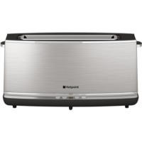Hotpoint TT12EAX0 Long Slot Digital Toaster Stainless Steel
