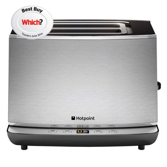 Hotpoint TT22EAX0 2- Slot Toaster Stainless Steel | Appliances Direct