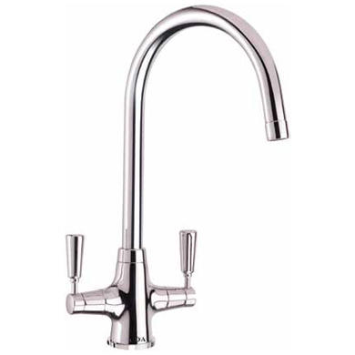 CDA TT41CH Traditional Quarter Turn Lever Monobloc Tap