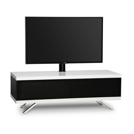MDA Designs Tucana Hybrid Complete TV Stand in White