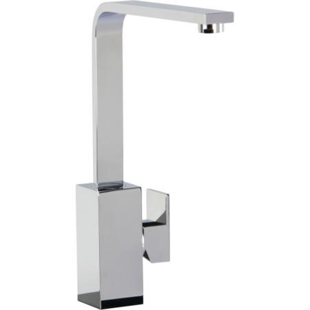 CDA TV9CH Square Contemporary Side Lever Mixer Tap Chrome