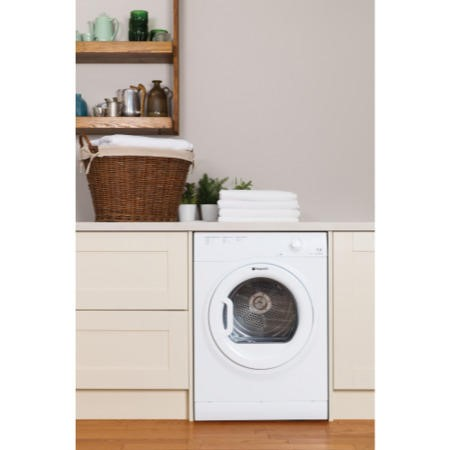 Hotpoint TVFM70BGP 7kg Freestanding Vented Tumble Dryer - Polar White