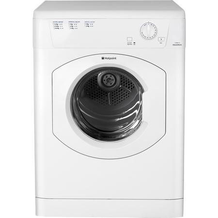 Hotpoint TVHM80CP 8kg Freestanding Vented Tumble Dryer White
