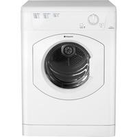 GRADE A2 - Hotpoint TVHM80CP 8kg Freestanding Vented Tumble Dryer White