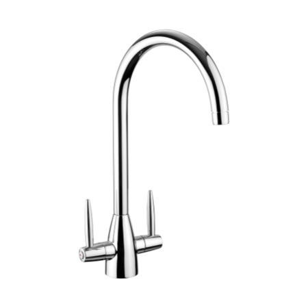 Rangemaster Aquavogue Brushed Steel Monobloc Contemporary Tap