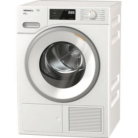 Miele TWF620WP T1 WhiteEdition 8kg Freestanding Heat Pump Condenser Tumble Dryer White