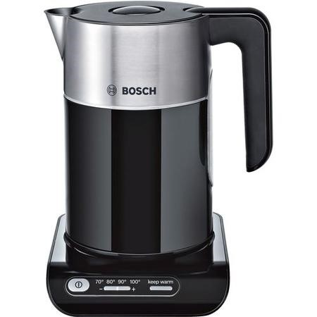 Bosch TWK8633GB Styline 1.5L Digital Cordless Kettle - Black