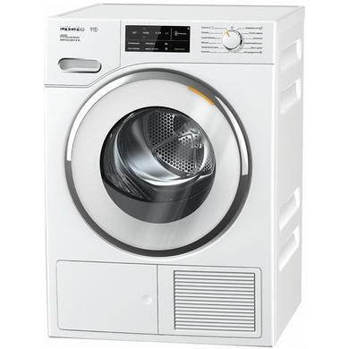 Miele TWJ680WP PerfectDry 9kg Heat Pump Tumble Dryer With SteamFinish - White