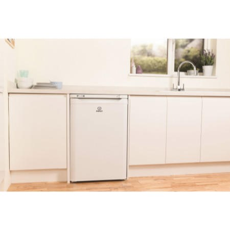 Indesit TZAA10 55cm Wide Freestanding Upright Under Counter Freezer - White
